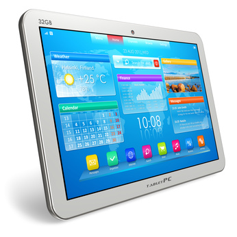 Digital Devices- White Tablet
