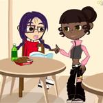 Yoon-hee and Lisa