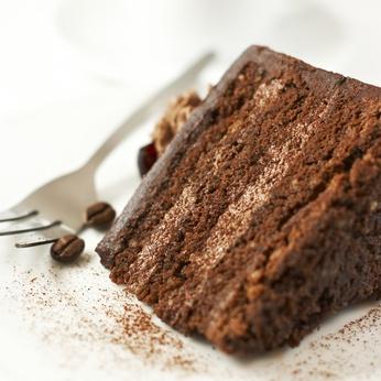 savoring- chocolate cake