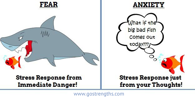 Stress vs anxiety essay